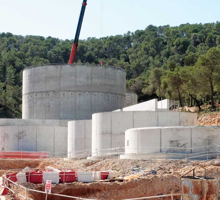 Wastewater Treatment Plant (WWTP) in Ibiza (Spain)