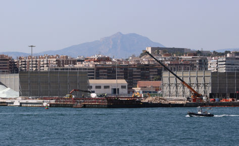 Port of Alicante extension