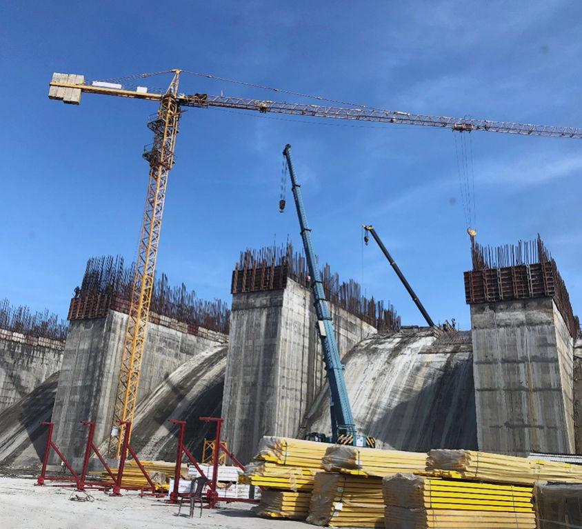 Proyecto hidráulico en Andhra Pradesh