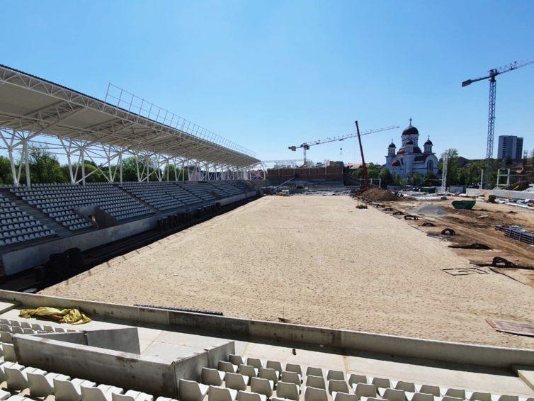Alsina România colaborează la construcția Stadionului Național Arcul de Triumf din București